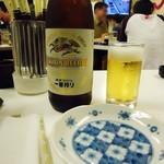 じゆうな丘 - 瓶ビールは中瓶。