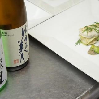 日本酒とフレンチのマリアージュ
