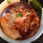 中野汁場 進化 - 「鯵香る醤油ラーメン」750円