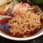 中野汁場 進化 - 麺