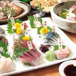 魚八商店 - 宴会8品コース