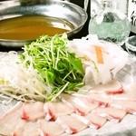 魚八商店 - 鮮魚のしゃぶしゃぶ