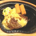 びっくりドンキー - 料理写真:チーズバーグステーキ