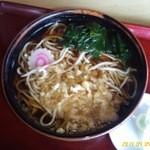 中村屋 - 料理写真:たぬきそば(500円)Z