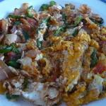 Kebab Chef - 野菜と卵の料理(ランチセット\900)