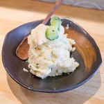 銀塩 - ランチに付くポテトサラダ