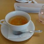ナトゥーラ - 料理写真:自家製スープ
