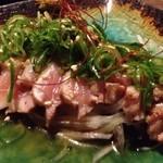 焼酎道楽 金星 - さぬき地鶏のタタキ