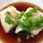ケヤキ - セルフの湯豆腐