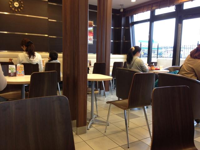 マクドナルド 4号線水沢店