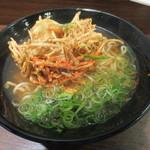 えきそば - 牛蒡かき揚げそば 400円 (2013.4)