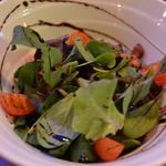 ザ・コーナーハンバーガー&サルーン - ほうれん草とグリルドベーコンサラダ 780円