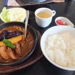 カズサヤ - 激辛カツカレー、大辛1,200円