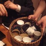 高瀬 - おチョコはお好きなのをどうぞ(^^)