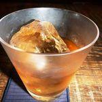 BACCHUS BASSIN - クラウンロイヤル・・主人が好きなウイスキーです。ロックで。。