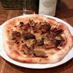 セカイヤ - 料理写真:«煮アナゴのピッツア»まんざら亭の煮アナゴを使ったSEKAIYAオリジナルピッツア