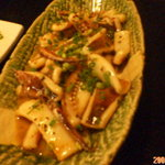 食彩 隠れん坊 - 料理写真:イカのガーリック炒め