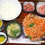 菊屋 - 料理写真:さくらえび定食 1550円