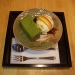 山口妙香園 - しっとりケーキ抹茶:抹茶をたっぷり使用した濃厚でしっとりとしたケーキです。