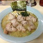 18300761 - Aセット ラーメン+ネギ丼 ¥650   麺中盛り(1.5玉)¥100 チャーシュー増量¥300