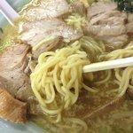 18300762 - Aセット ラーメン+ネギ丼 ¥650   麺中盛り(1.5玉)¥100 チャーシュー増量¥300