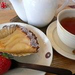 ガトーデイジー - 料理写真:洋梨のタルト