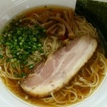 麺屋信玄 - 醤油らーめん大盛り(1.5玉)670円+120円