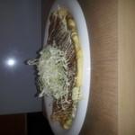 くらちゃん - ふわふわヘルシーなポテサラキャベツ焼き