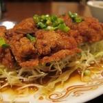 紅龍門 - 揚げ鶏、甘辛酢ソースかけ