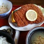 18305614 - ジャンボカツ定食1600円