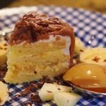ル・ヴァン・ド・ヴェール - ケーキセットのモンブラン