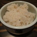 ピニョ食堂 - ご飯は雑穀米