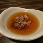 ピニョ食堂 - オキアミの塩辛