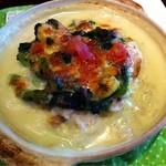 フォーリーフ・クローバー - 菜の花と海老のクリームドリア