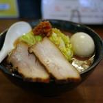 ゆいが - 黒豚骨醤油(黒狼)~☆