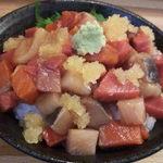 玉ねぎ屋 - 海鮮まぶし丼500円!