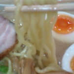 麺屋 一歩 - 麺アップ