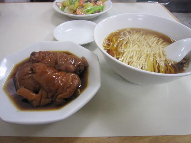 徳記 - 豚脚麺(とんそくそば) 1,000円