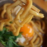 山本屋本店 - 5)麺アップ