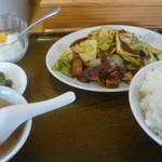 生香楼 - 回鍋肉定食(ご飯大盛)