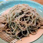 黙坊 - 蕎麦のアップ