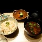 蒼樹庵 - 食事