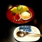 蒼樹庵 - 水菓子