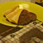 山水 - 筍と椎茸