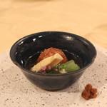 トゥ・ラ・ジョア - 筍と桜海老の葛寄せ揚げ (2013/04)