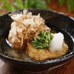 つるべ - 料理写真:つるべに来たらこれ食べなくちゃ。人気ナンバー.1。あ・げ・だ・し