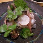 作一 - とり貝の酢味噌