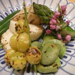 作一 - 焼き野菜の盛り合わせ