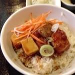 ナチュラ - 鶏の甘酢唐揚げ丼