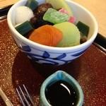 四季茶寮えど - 抹茶あんみつ(こしあん)